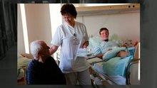 Arbeitstag im Leben der Krankenschwester Angela