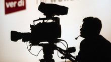 Kameramann bei der Arbeit