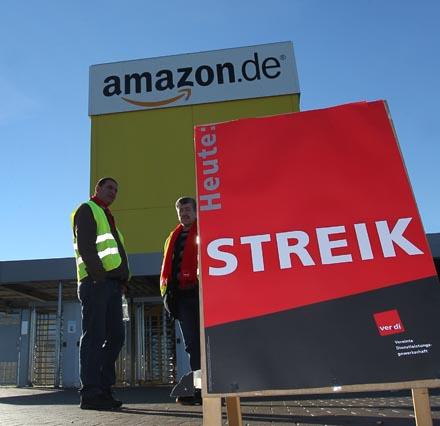 Heute Streik bei Amazon