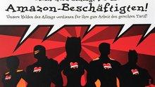 """Postkarten-Aktion """"Mein Herz schlägt für die Amazon-Beschäftigten"""""""
