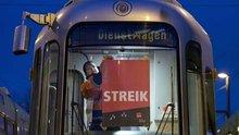 Streik: Wenn die Bahnen im Depot bleiben