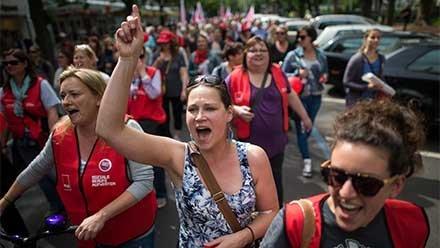Neue Löhne braucht das Land – Erzieherinnen im Streik