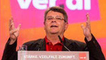 Wolfgang Katzian, der Vorsitzende der österreichischen Gewerkschaft GPA - djp
