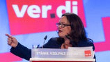 Bundesarbeitsministerin Andrea Nahles, SPD