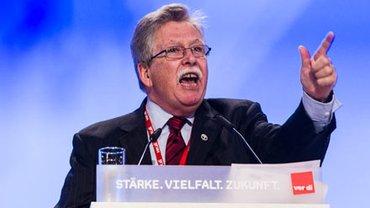 Chris Shelton, Präsident CWA, auf dem 4. ver.di-Bundeskongress