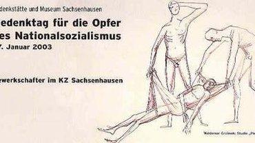 Plakat Gedenktag für die Opfer des Nationalsozialismus