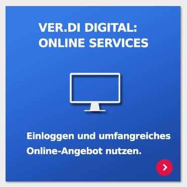 ver.di Online Services nutzen