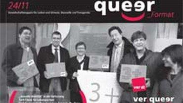 Titelseite der queer 24/2011
