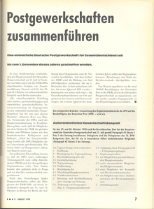 Deutsche Post August 1990