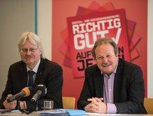 Pressekonferenz zum Verhandlungsauftakt Aufwertung der Berufe im Sozial- und Erziehungsdienst am 25. Februar 2015 in Hannover