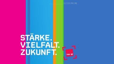 Abbildung Wortmarke Bundeskongress 2015: Stärke, Vielfalt, Zukunft