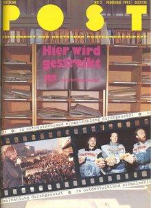 Deutsche Post Februar 1991