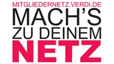 Logo ver.di-Mitgliedernetz