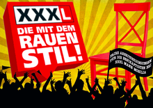 Solidaritätspostkarte für die ohne Vorwarnung bei XXXL Mann Moblia in Mannheim vor die Tür gesetzten Beschäftigten des Zentrallagers.