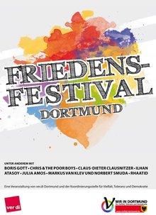 Plakat Friedensfestival