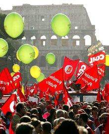 Generalstreik Italien