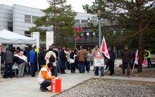 Streik in  Stendal