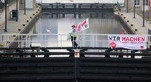 Ab Montag ruft ver.di zu mehrtägigen Streiks im Schiffsverkehr und an den Schleusen auf.
