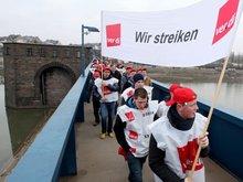Beschäftigte der WSV streikten bundesweit