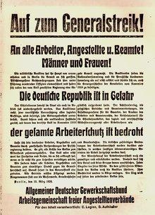 Flugblatt 1920