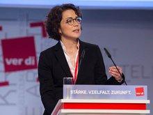 Dr. Kira Marrs, ISF, München sprach auf dem 4. ver.di Bundeskongress zu Digitalisierung 4.0