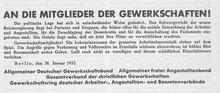 Hitler zum Reichskanzler ernannt