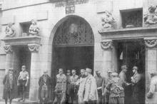 SA stürmt Münchner Gewerkschaftshaus
