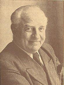 Willi Feldmann, der 1. Vorsitzende der Gewerkschaft Kunst