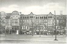 Gewerkschaftshaus am Besenbinderhof in Hamburg