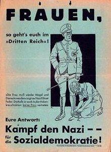Plakatmotiv SPD-Frauenkampagne