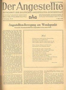 """""""Der Angestellte"""" vom 1. Mai 1949"""