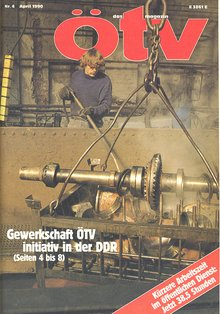 ötv-magazin April 1990