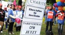CFM-Beschäftigte demonstrieren