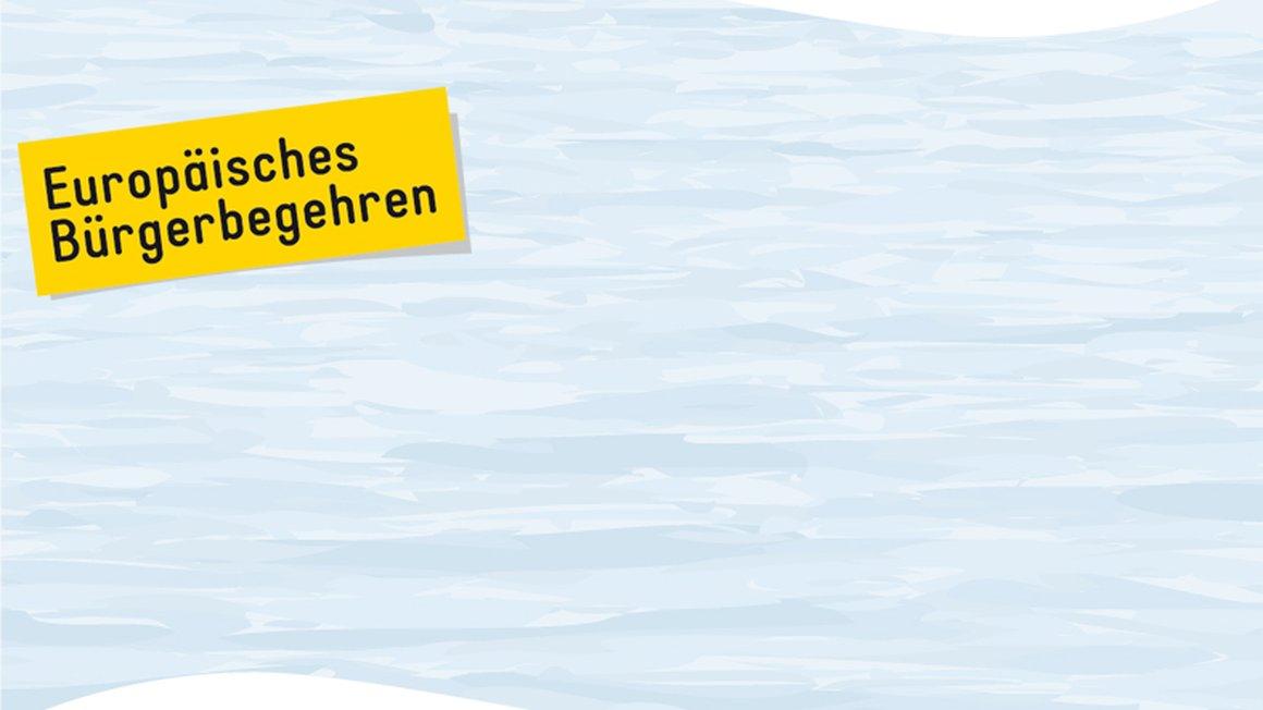 Wasser - Europäisches Bürgerbegehren