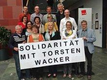 Die Bundesfachgruppen Genossenschaftsbanken unterstützt Torsten Wacker.