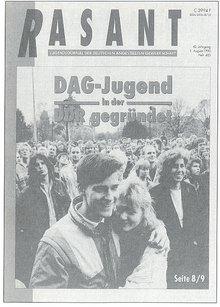 Rasant August 1990