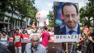 In Paris haben Gewerkschaften gegen die geplanten Arbeitsmarktreformen protestiert.