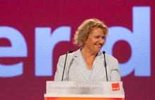 Monika Brandl am Rednerpult