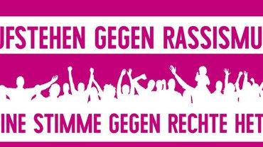 Demo Aufstehen gegen Rassismus am 3. September in Berlin