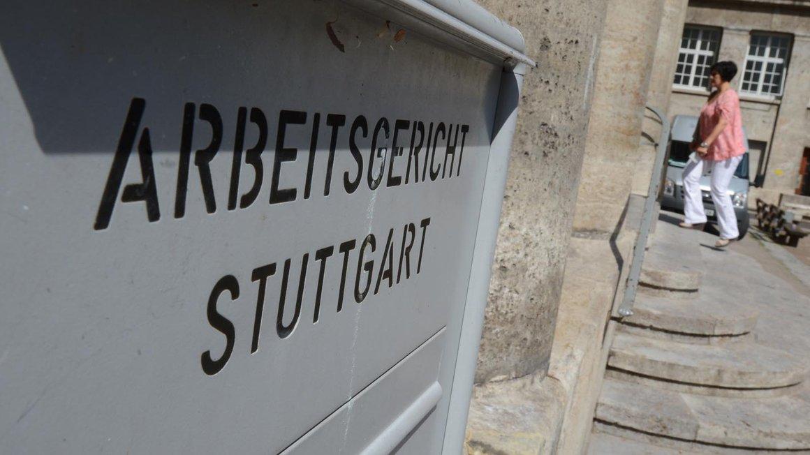 Das Arbeitsgericht Stuttgart