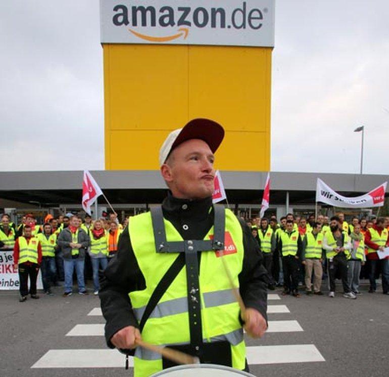 Der Tarifvertrag fehlt noch immer: erneut Streiks bei Amazon