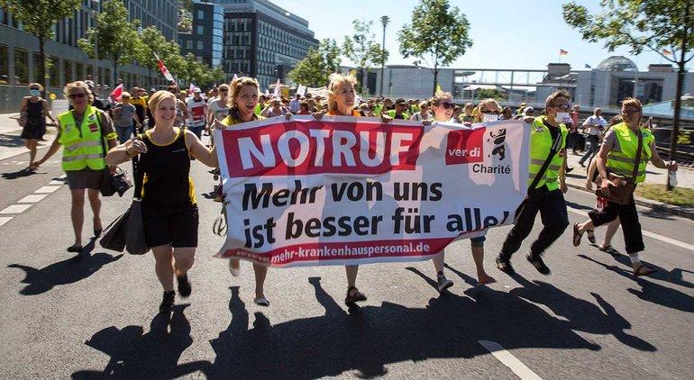 Charité: Streik vorerst ausgesetzt