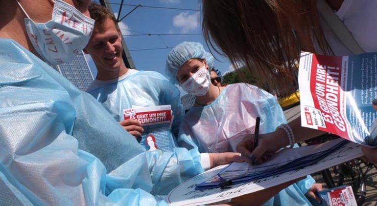 Charité: Pflegekräfte wollen nicht nur mehr Geld, sondern auch mehr Personal