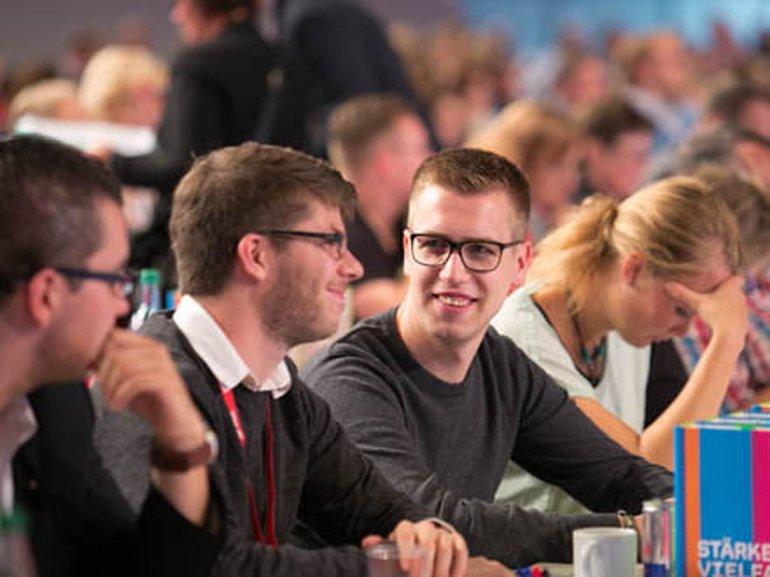 Delegierte beim 4. ver.di-Bundeskongress