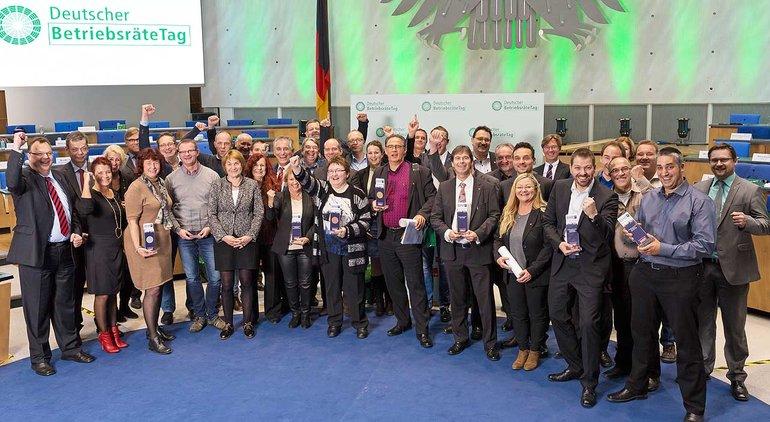 Verleihung des Betriebsräte-Preises 2015