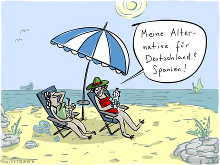 Cartoon AfD