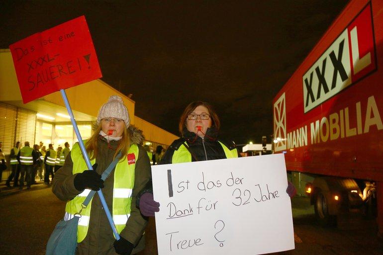 XXXL-Mann Mobilia in Mannheim, ist das der Dank für 32 Jahre Treue?