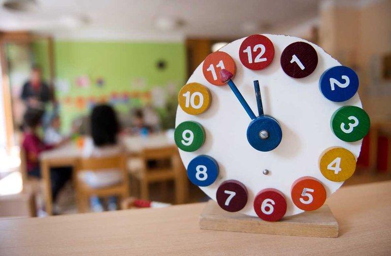 In den Kitas stehen die Uhren auf fünf vor zwölf