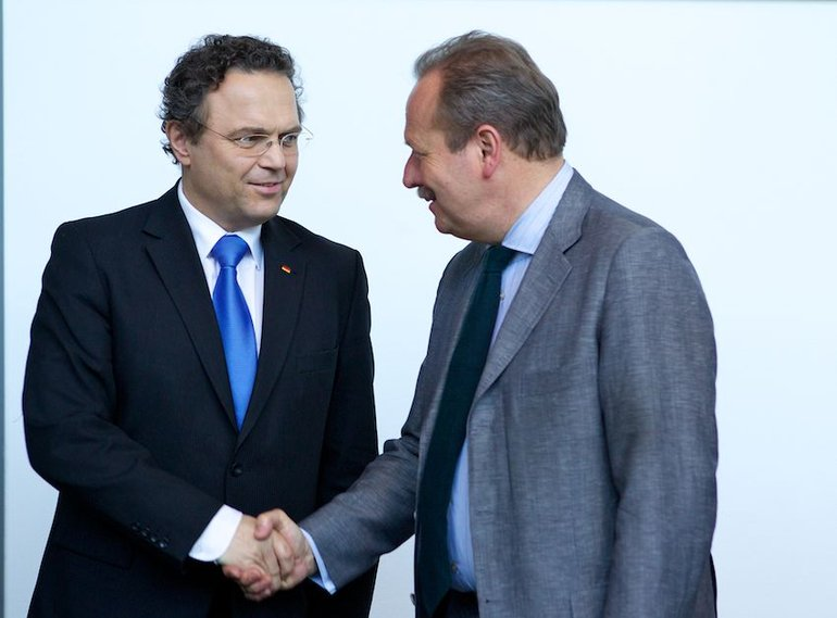 Innenminister Friedrichs, Frank Bsirske