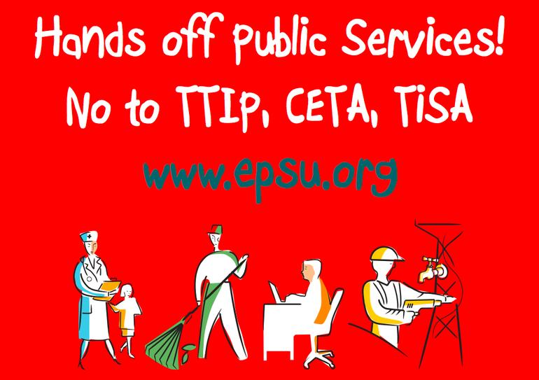Hands off public Services!